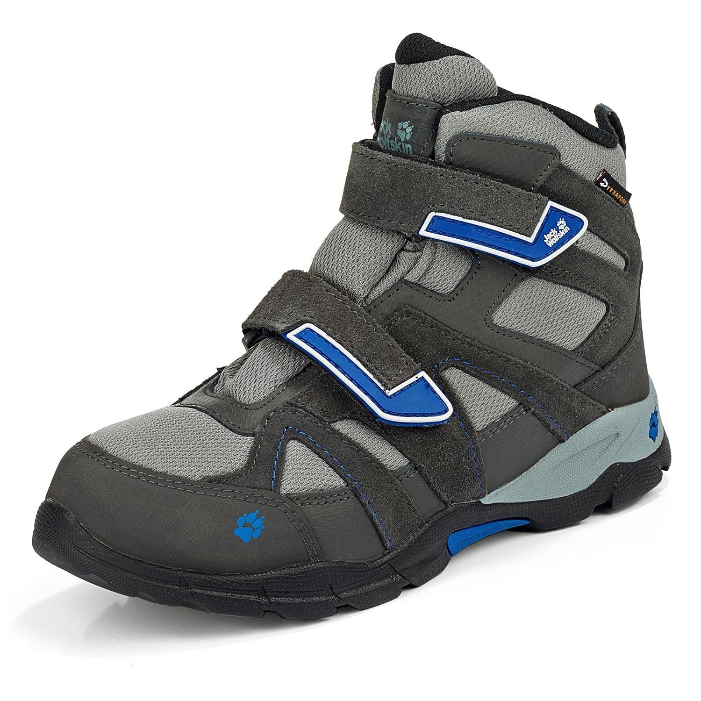 wholesale dealer 26e4c 39882 Jack Wolfskin BOYS'Hiking Shoes BOYS VOLCANO MID TEXAPORE VC ...