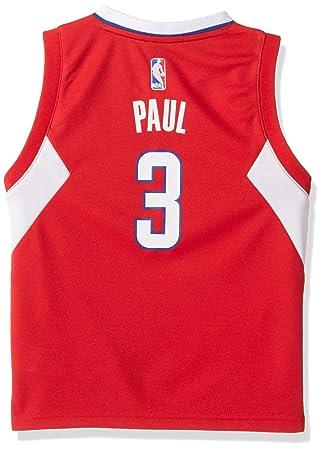 6be2b1df103 NBA adidas Chris Paul Los Angeles Clippers Preschool Revolution 30 Replica  Jersey - Red (4
