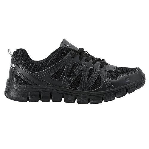 Fitlite Zapatillas de Fitness de Rejilla Transpirable y Detalles de Efecto Piel: Amazon.es: Zapatos y complementos