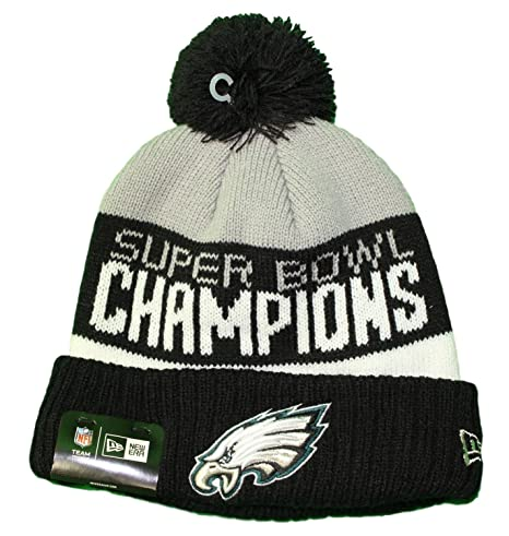 quality design 3b137 1ba87 Image Unavailable. Image not available for. Color  New Era Philadelphia  Eagles NFL Super Bowl LII Champions Parade Knit Hat