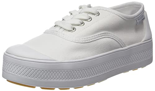 Palladium Sub Low Canvas, Zapatillas para Mujer, Blanco (White 420), 38 EU