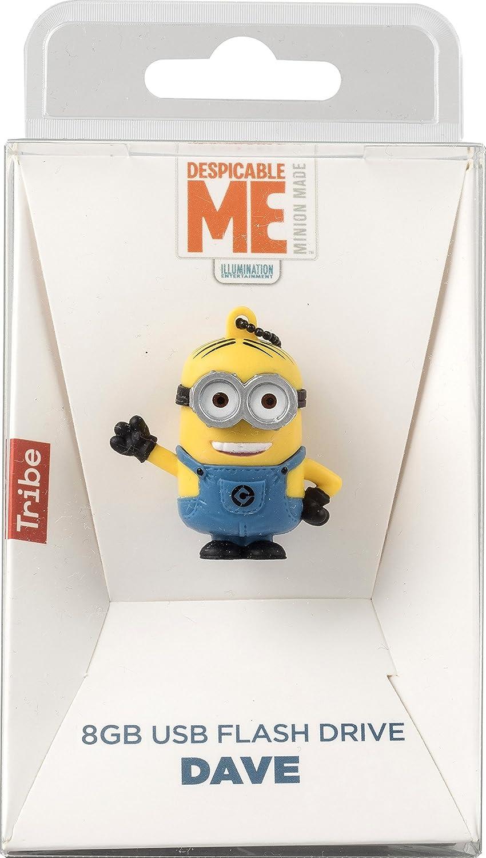 Tribe Los Minions Despicable Me Dave - Memoria USB 2.0 de 8 GB ...
