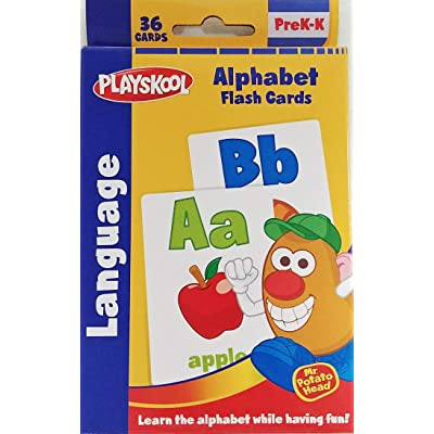 Alphabet Flash Cards - Learn Letters with Mr. Potato Head (Learn School Homeschool Practice - Fun!): Toys & Games
