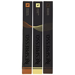 Nespresso OriginalLine: Vanilio, Caramelito, Ciocattino, 30 Count - ''NOT compatible with Vertuoline''