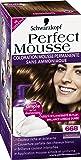 Schwarzkopf Perfect Mousse - Coloration Permanente - Noisette 668