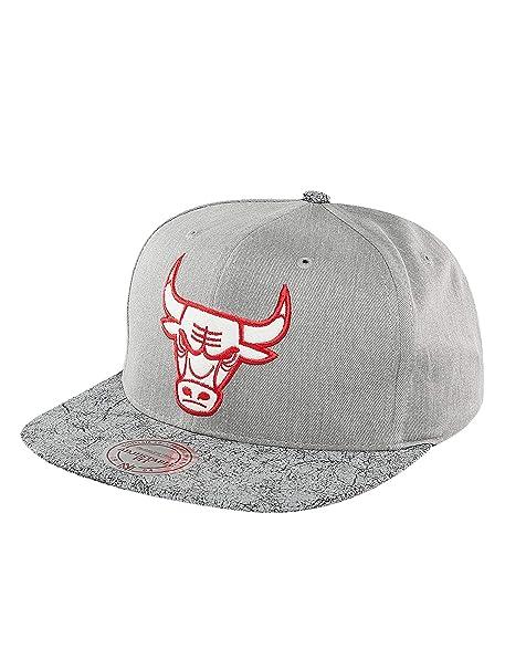 Mitchell & Ness Mujeres Gorras / Gorra Snapback NBA Cracked Chicago Bulls
