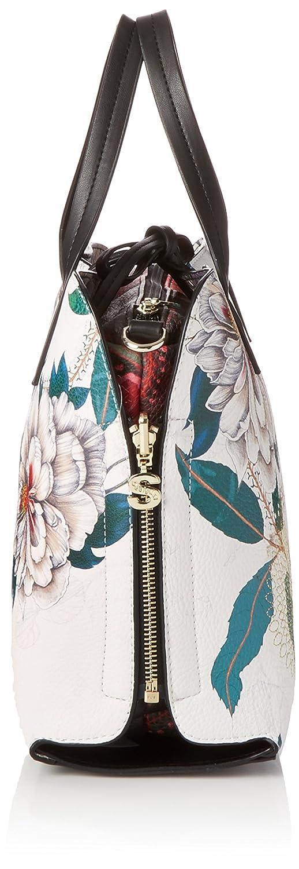 es bolsa Desigual Hamar Amazon Zapatos Troy única 5 mujer para bolsos 5 multicolor 13 talla 28 x y 24 cm qaaExr