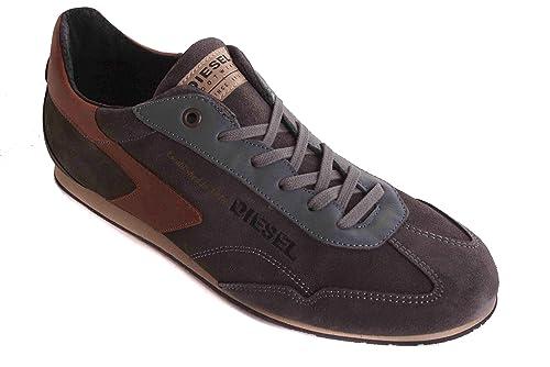 DIESEL Zapatillas DE Hombre Zapatos DE Cordones Zapatos Gris #11 - Gris, 40 EU: Amazon.es: Zapatos y complementos