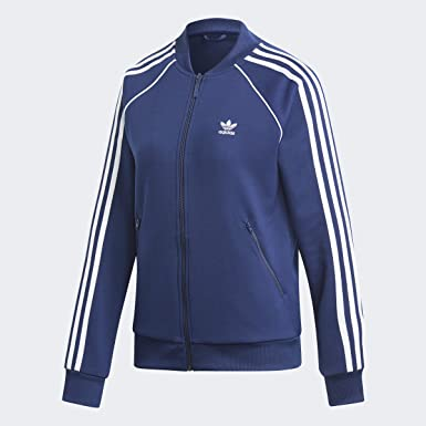 adidas TT W track top purple
