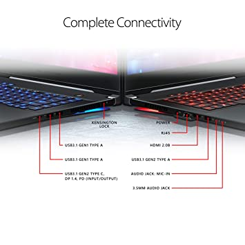"ROG Zephyrus S Thin and Portable (2019) Gaming Laptop, 15 6"" 240Hz G-SYNC  FHD IPS, GeForce RTX 2070, i7-9750H, 16GB DDR4 RAM, 1TB PCIe Hyper Drive"