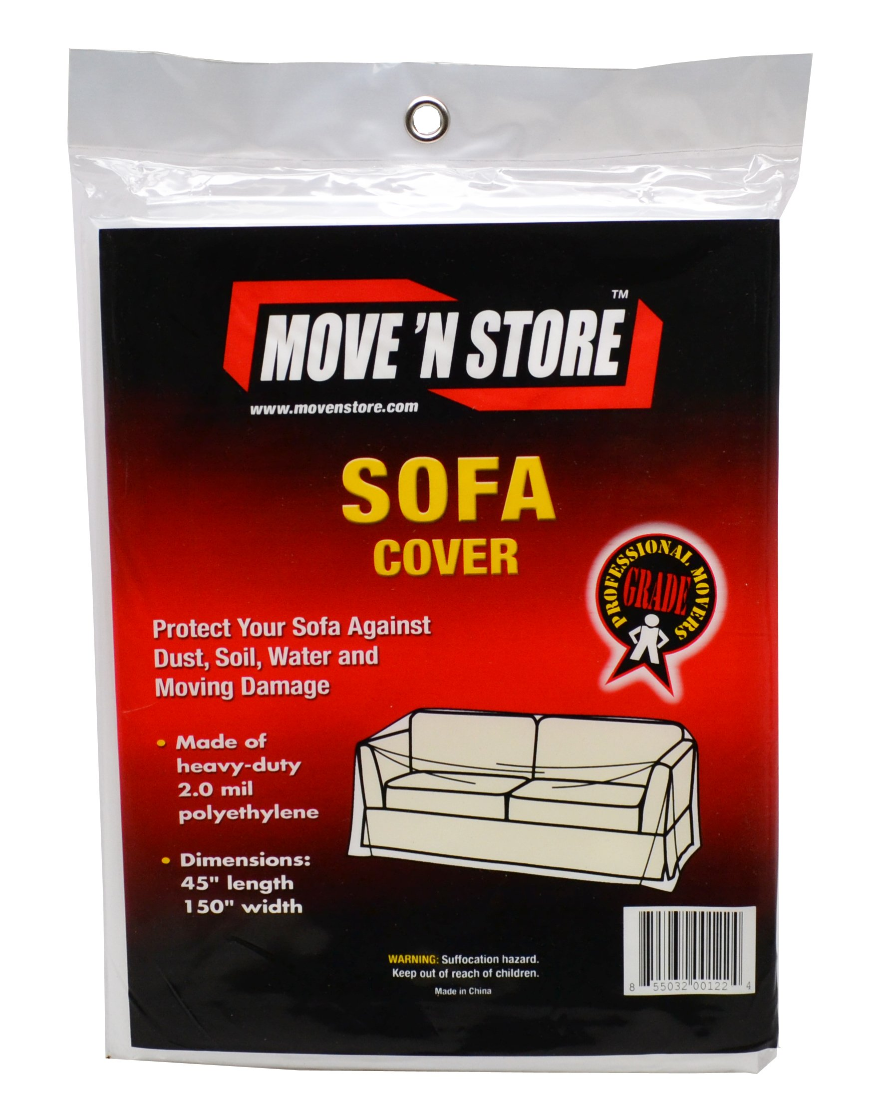 Plastic Sofa/Couch Moving Cover (10 Bags) - MBX-57