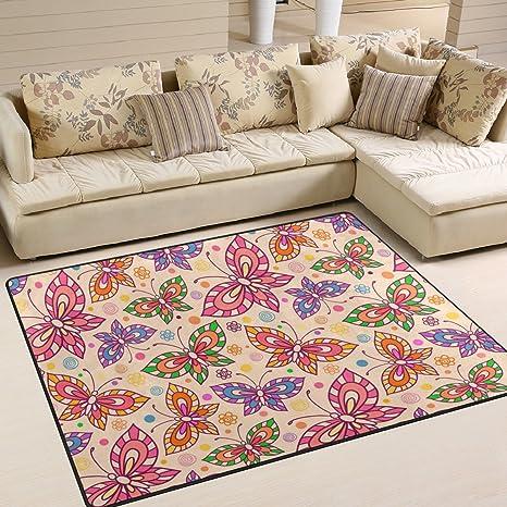 Ingbags super morbido moderno farfalla area tappeto salotto tappeto ...