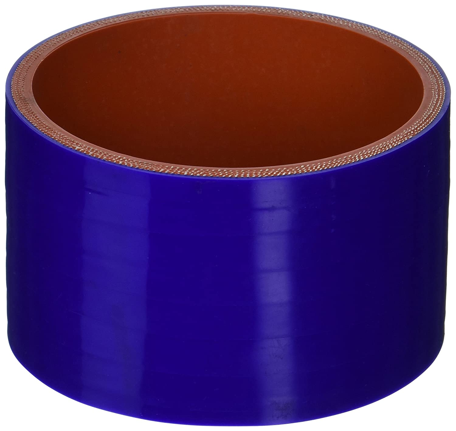 HPS HTSC-450-BLUE Silicone High Temperature 4-ply Reinforced Straight Coupler Hose, 65 PSI Maximum Pressure, 3' Length, 4-1/2' ID, Blue 3 Length 4-1/2 ID HPS Silicone Hoses