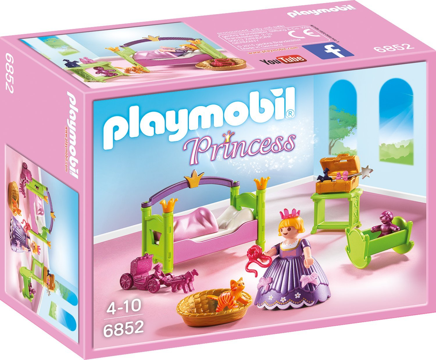 Amazon.de:Playmobil 6852 - Prinzessinnen-Kinderzimmer