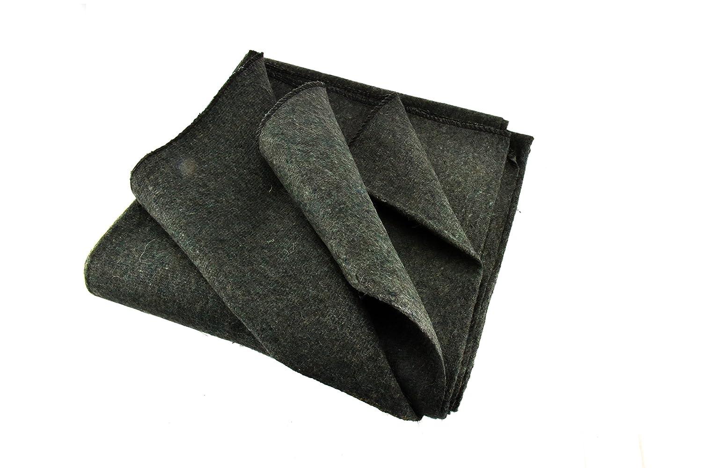 80-Percent Wool 4 Lbs Olive Green SE BI64846GN 64X84 Wool Blanket