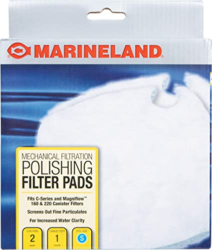 Amazon.com : Marineland Polishing Filter Pads, Mechanical Filtration For Canister Filters : Aquarium Filter Accessories : Pet Supplies