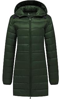 c369f8140b2 Amazon.com  32 DEGREES Womens Ultra Light Hooded Down Packable Coat ...
