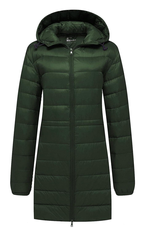 Wantdo Women's Hooded Packable Ultra Light Weight Down Coat WT3331