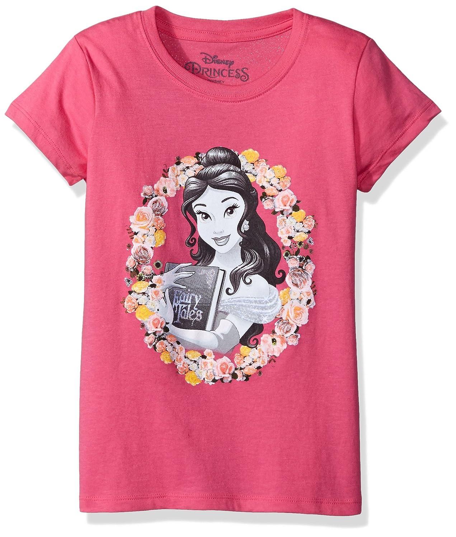 e4cfe065 Amazon.com: Disney Girls' Beauty and the Beast Belle T-Shirt: Clothing