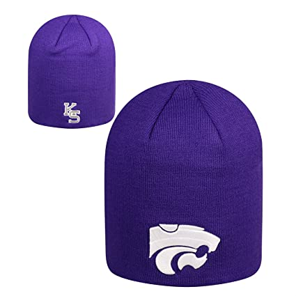 sports shoes f4eea 85e4c Amazon.com   Top of the World NCAA Classic Knit Beanie Hat-Kansas State  Wildcats   Sports   Outdoors