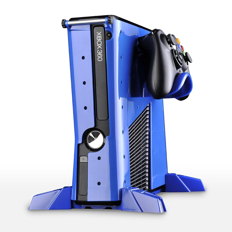 Microsoft Xbox 360 - Vault Carcasa Básica, Color Azul ...