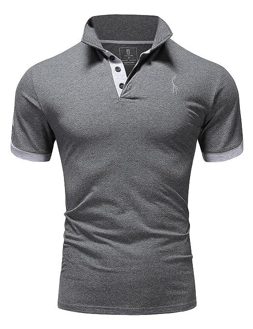 29 opinioni per Glestore Polo Uomo MT1030 Basic Manica Corta Tennis T-shirt