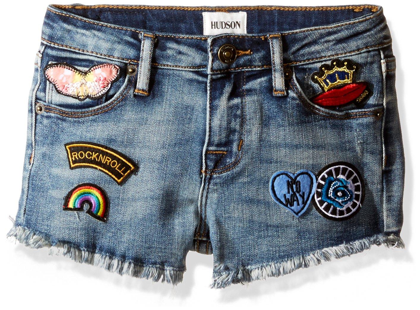 HUDSON Little Girls' Fashion Short, Ryder, 6X