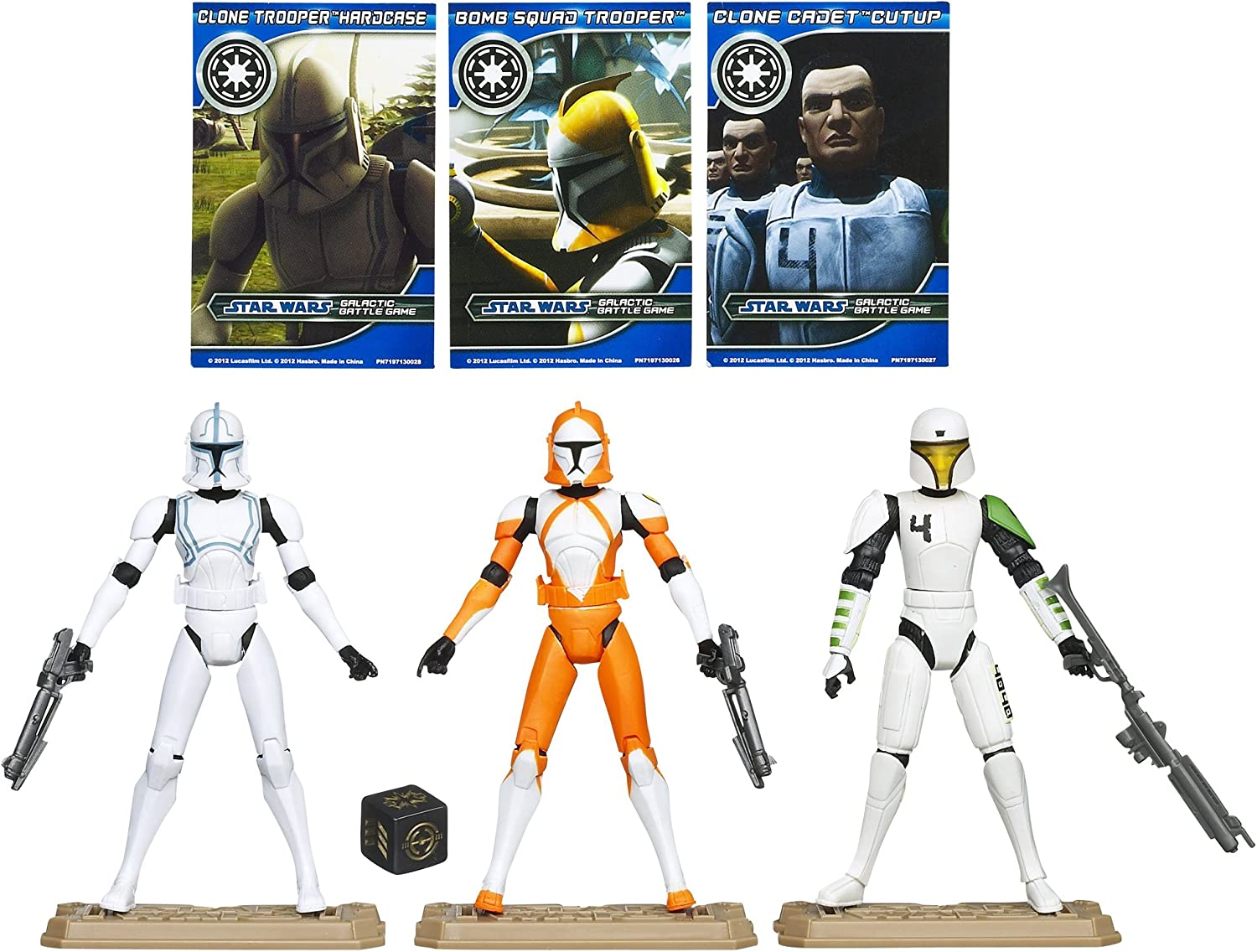 STAR WARS Republic Clone Troopers Battle Pack: Amazon.es: Juguetes ...