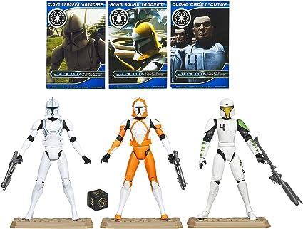 STAR WARS Republic Clone Troopers Battle Pack: Amazon.es: Juguetes ...