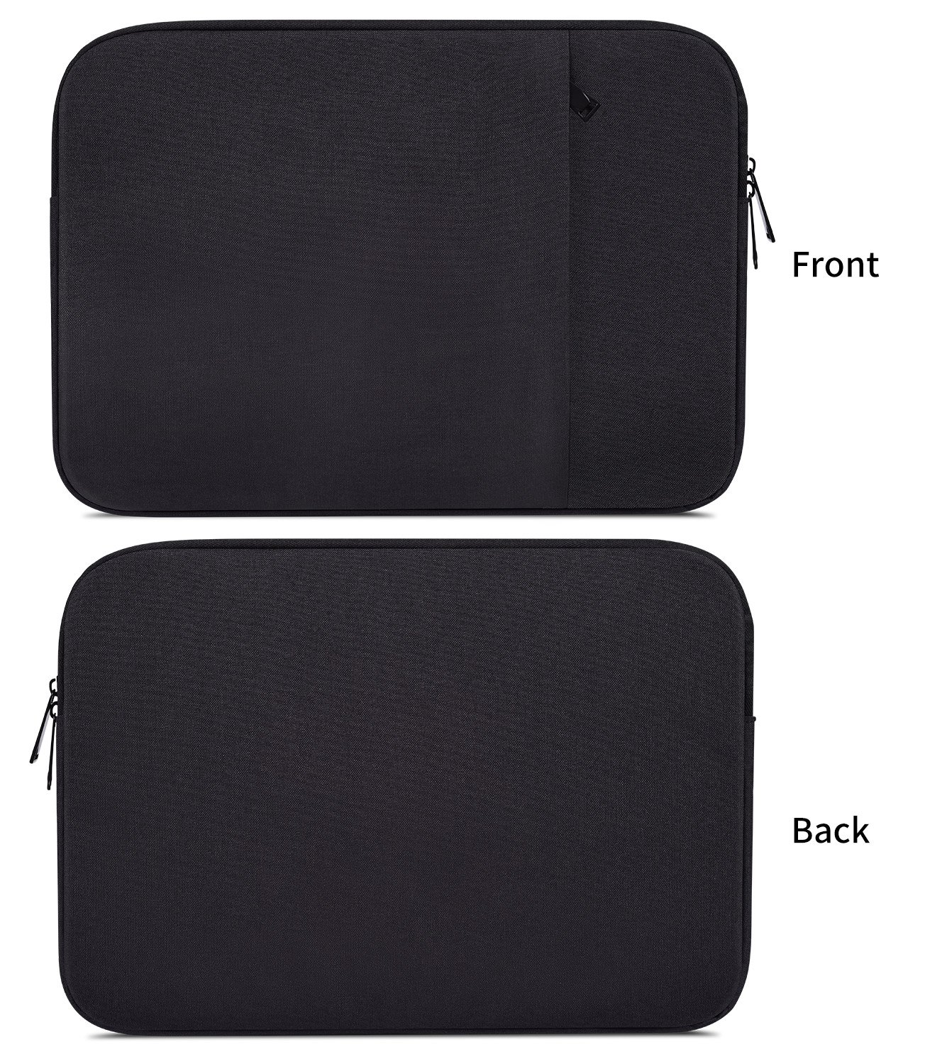 15.6 Waterpoof Laptop Sleeve Case for Acer Aspire E 15 E5-575, Acer Predator Helios 300 15.6, Lenovo Flex 5 15, Dell Inspiron 15, HP 15.6 Inch Laptop, MSI GL62M 15.6 Protective Carrying Bag, Black