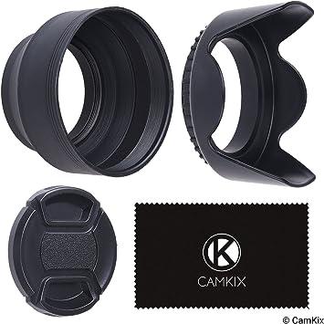 Lens Cap Center Pinch for Pentax K-5 IIs 52mm + Lens Cap Microfiber Cloth