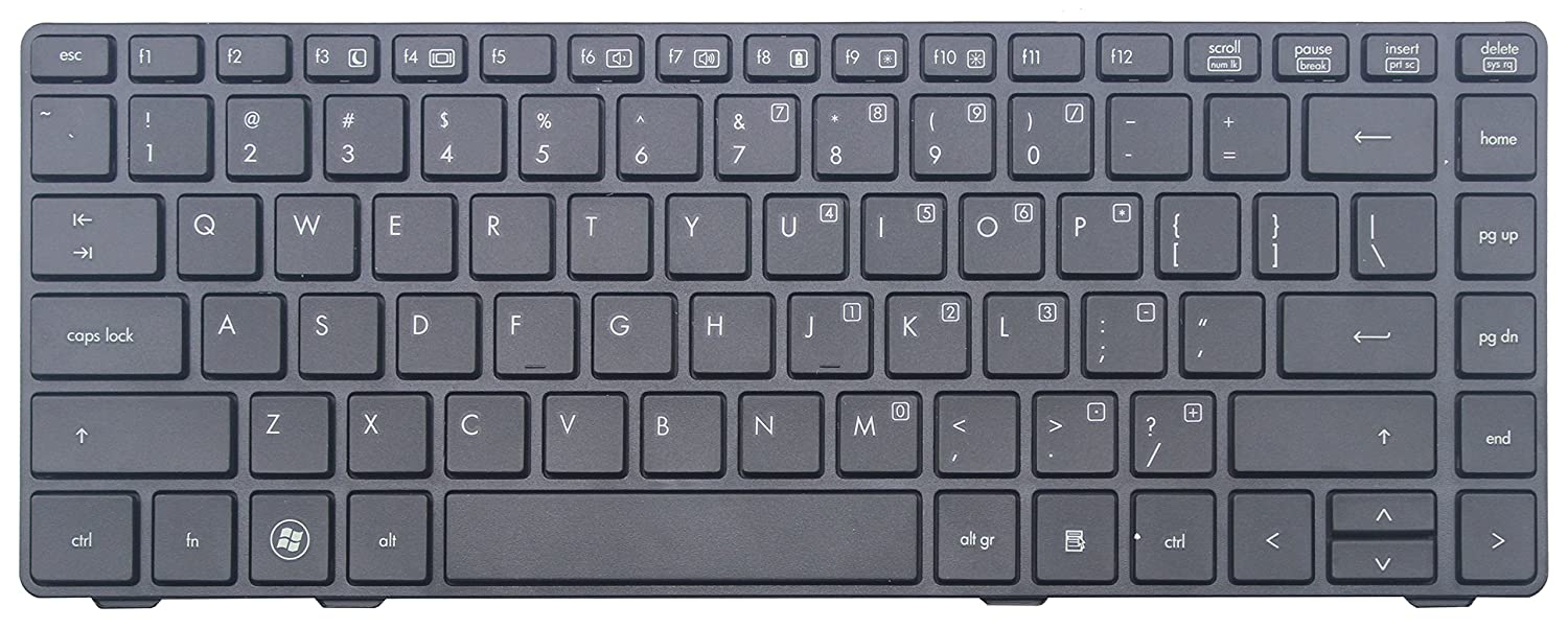 Original New US layout Compatible with UK for HP EliteBook 8460p
