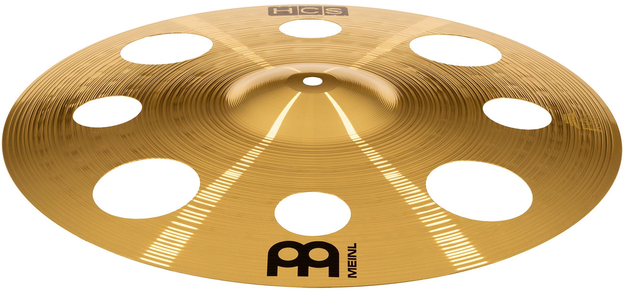 Meinl Cymbals HCS16TRC 16'' HCS Brass Trash Crash Cymbal for Drum Set (VIDEO) by Meinl Cymbals (Image #3)