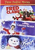 Three Festive Movies - Fred Claus [2007]/ National Lampoons Christmas Vacation [1989]/ Jack Frost [1998] [DVD] [2011]