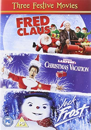 christmas triple 2011 fred claus nationa region 2 - Vince Vaughn Christmas Movie
