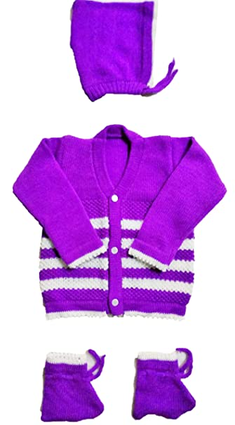 975169c94 RK SWEATERS Baby Woollen Cardigan (Peach 0-6 Months) (6-18 Months ...