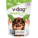 V-dog Vegan Breathbone Dog Chew Treats, 8 Ounce, With Superfoods