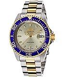 Invicta Ile8928oba Men's Ltd. Ed. Pro Diver Auto Two-Tone Stainless Steel Gold-Tone Dial Watch