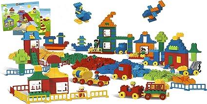 Bulk RED BLUE GREEN YELLOW 2x2 Brick Lot *40 Blocks* LEGO DUPLO Building Toys