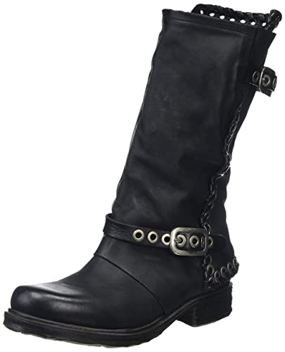 A.S.98 Saintec, Bottes Hautes Femme, Noir (Nero 101 6002), 39 EU