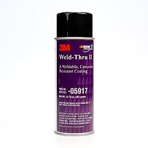 3M Weld-Thru Coating II, 05917, 12.75 oz Net Wt/361 g