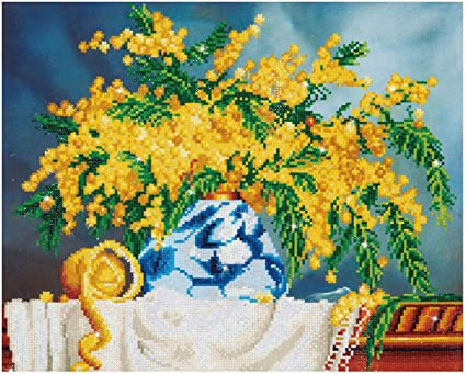 Needleart World Native Wattle Diamond Embroidery Kit
