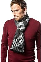 Marino's Winter Cashmere Feel Men Scarf,100% Cotton Fashion Scarves, In Elegant Gift Box