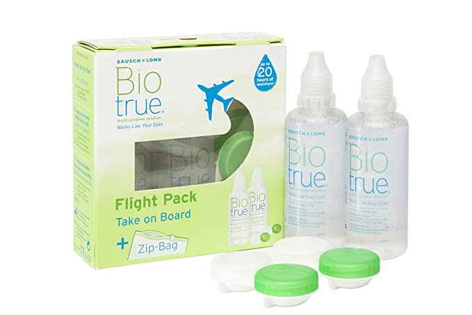 34 opinioni per Bausch + Lomb Biotrue multi-purpose Solution Flight Pack