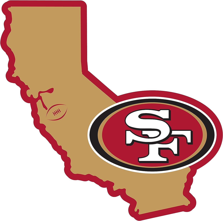 NFL Siskiyou Sports Fan Shop San Francisco 49ers Home State 11 Inch Magnet One Size Team Color