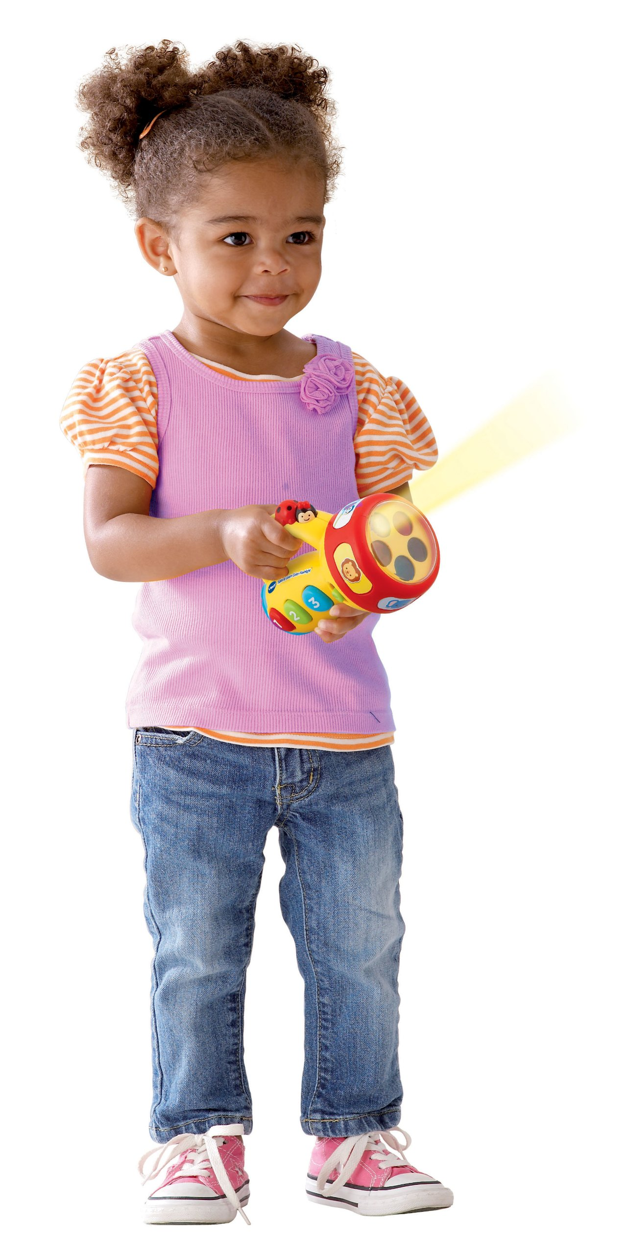 VTech Spin and Learn Color Flashlight, Yellow by VTech (Image #3)