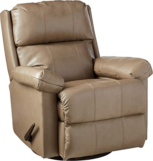 Lane Home Furnishings 4205 18 Soft Touch SwivelRocker Recliner, Taupe