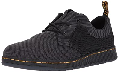 708217b43f6 Dr. Martens Cavendish Oxford, Black/Anthracite Knit, 5 Medium UK (6