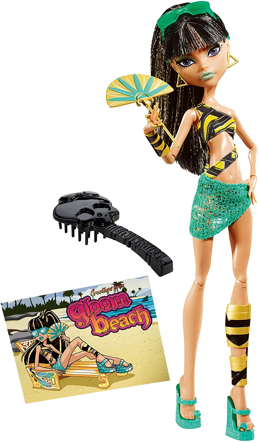 Amazon.es: Monster High Gloom Beach Cleo De Nile Muñeca: Juguetes ...