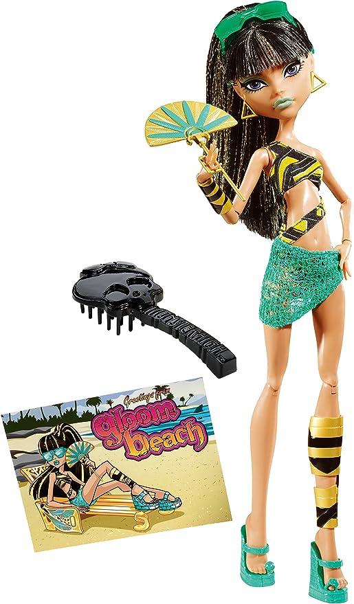 Amazon.com: Monster High penumbra playa Cleo de Nile muñeca ...